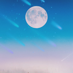 freetoedit top moon astrology sky picsarteffects picsartist stars