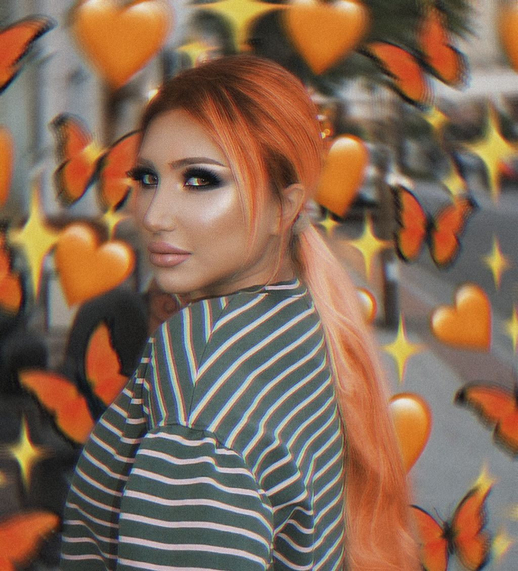 #freetoedit #surreal #orange #aesthetic #aesthetics #grunge #grungeaesthetic #tumblr #girl #butterfly #background #emoji #emojibackground #vintage