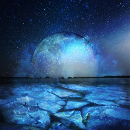moon freetoedit good night