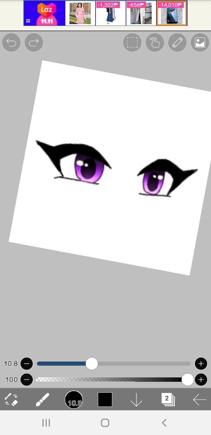 New eye sticker coming