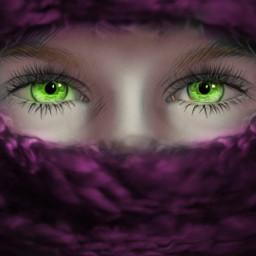 freetoedit younggirl scarf winter purplescarf