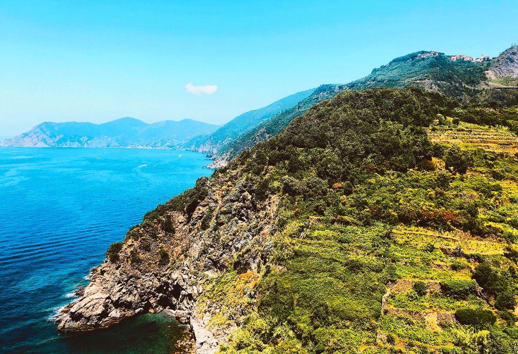 #bluffs #rocks #ocean #bluff #rock #ocean #moss #green #nature #blue #sea #water #sky #trees #mountains #landscape #cove #beach #freetoedit #remixit @picsart @dakotaelle