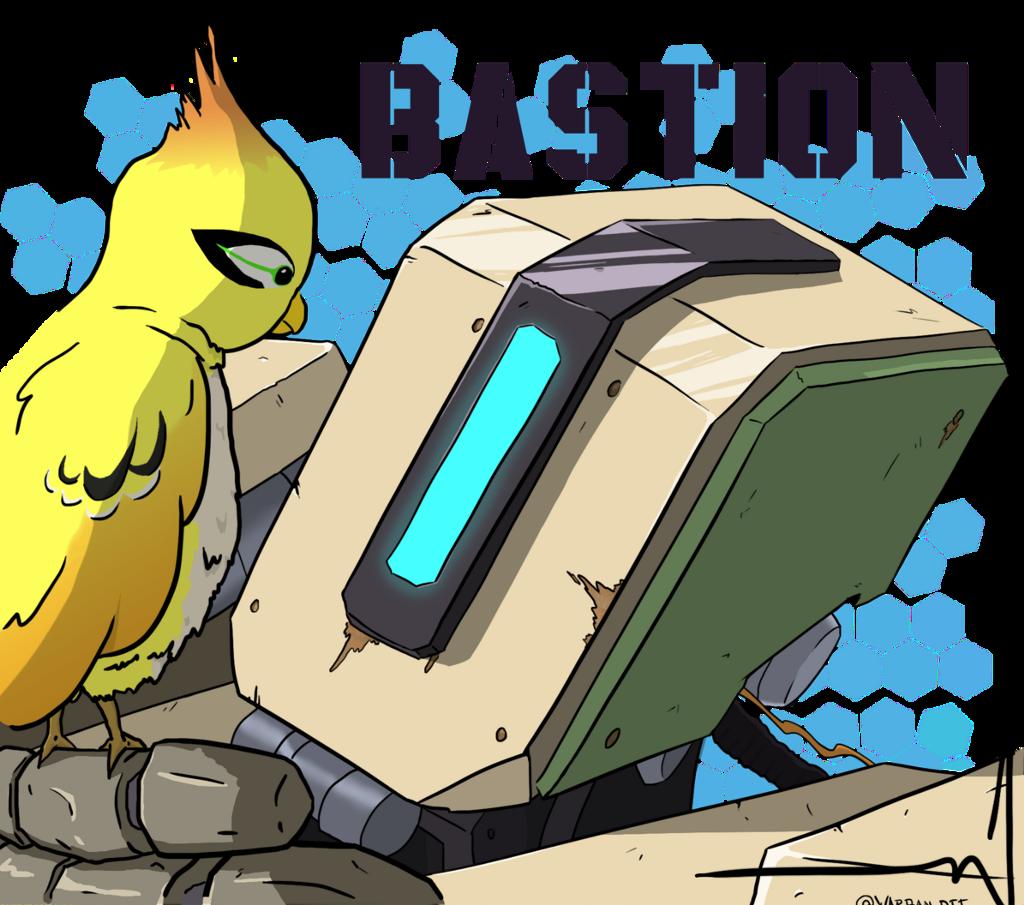 #overwatch #bastion #videogame #bird #robot