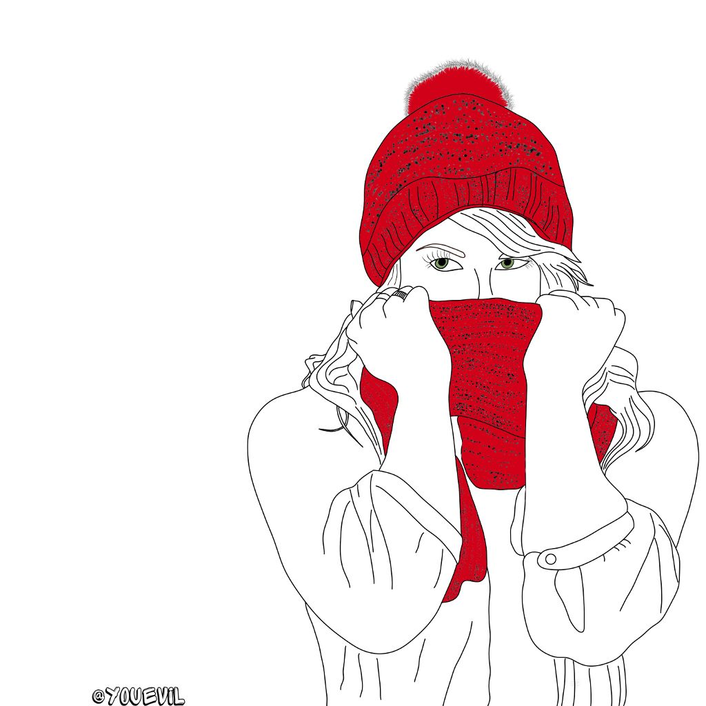 #red#accent#accentseries#redscarf#winter#winterfashion#fashion#cold#coldweather #freetoedit