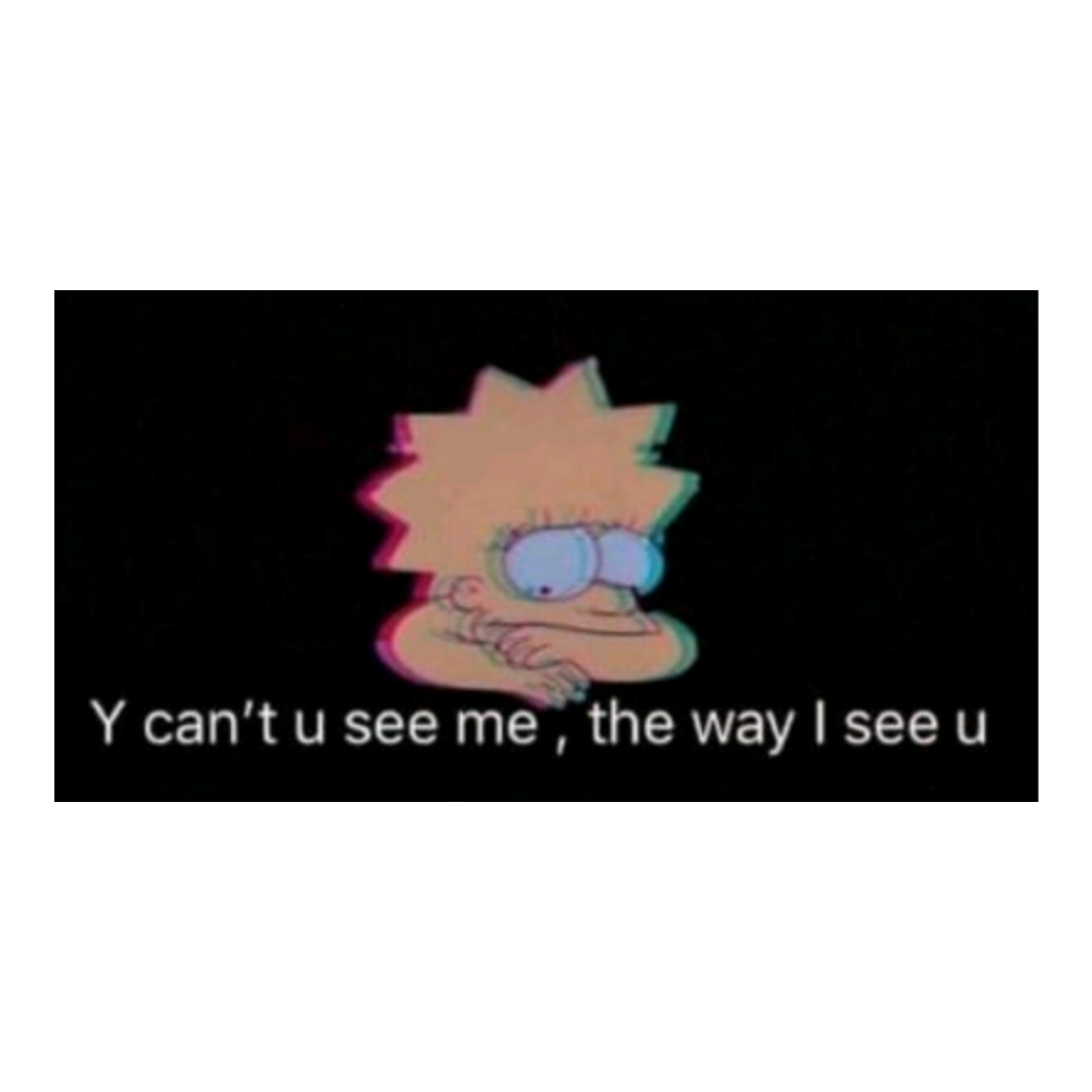 #sad #thesimpsons #lisasimpson