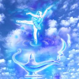 freetoedit fantasyart sky clouds magic