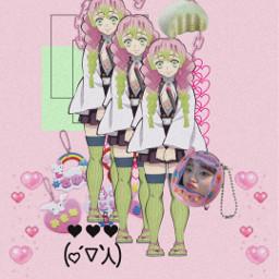 anime animeaesthetic animewallpaper kimetsunoyaiba demonslayer freetoedit