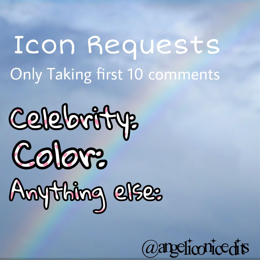 First 10! Never know when i might do requests again  Tag list: @queen_annie26 @strangermarshmellos @_ruth____ @danceandhorses @dancemomsdisneybrat @piper_rockellefp @arianas--vixens  #freetoedit