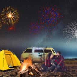 freetoedit picsart camping camp ircvintagevan vintagevan