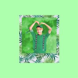 hoseok green_theme green bts bts_jhope freetoedit