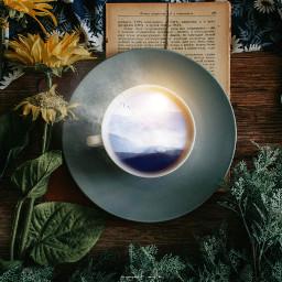 freetoedit mug surreal picsart madewithpicsart