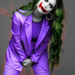 freetoedit jokerface facepaint makeup manipulation ecalittlelate alittlelate
