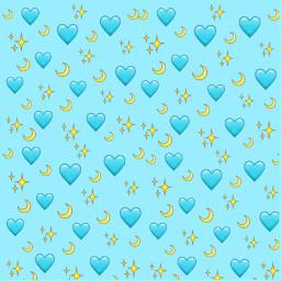 freetoedit hearts emojistickers emojibackground emojis