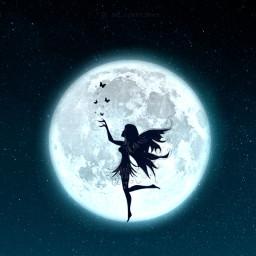 fairy moonlight freetoedit