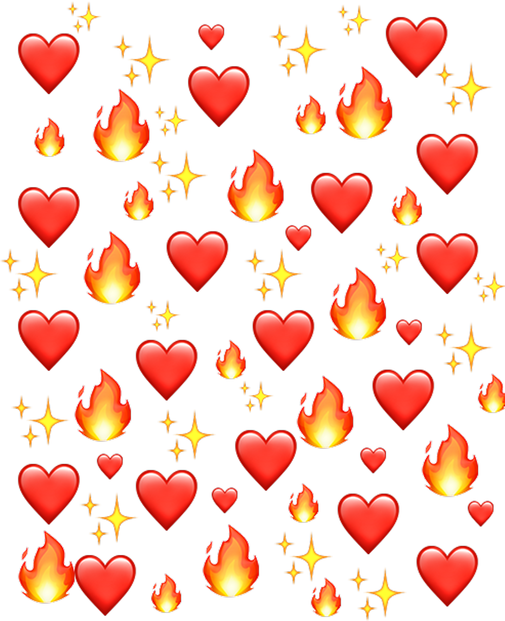 #emoji #emojis #emojiiphone #emojibackground #fire #fireemoji #heart #heartemoji #editoverlay