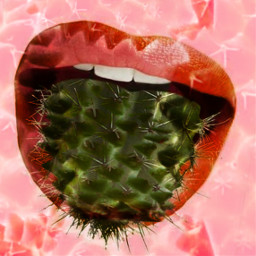 freetoedit mouth lips irccactibackground cactibackground