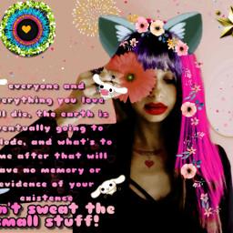 freetoedit embrace nihilism heartsisee cat ircgirlwithaflower girlwithaflower