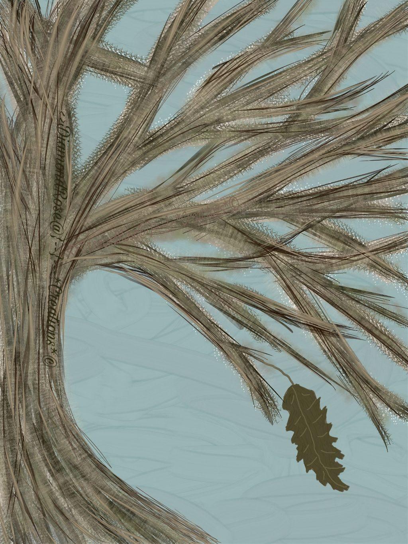 #tree #nature #drawing #fall #leaf