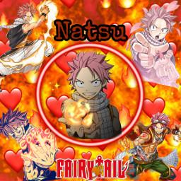 freetoedit natsudragneel natsu fairytail anime