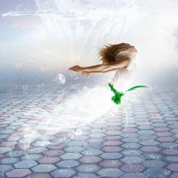 freetoedit fantasyart mermaid underwater rainyday ecrainyseason rainyseason