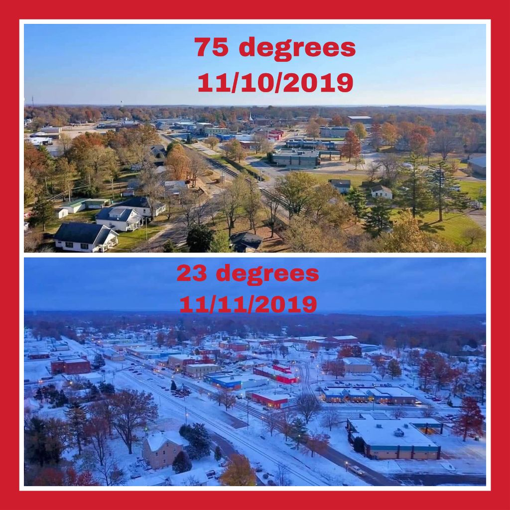 #freetoedit #missouri #weather #difference #collage #hugedifference #wow #hot #cold