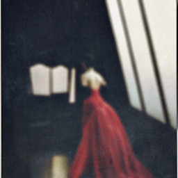 womanofmystery blurred elegance reddress photography freetoedit