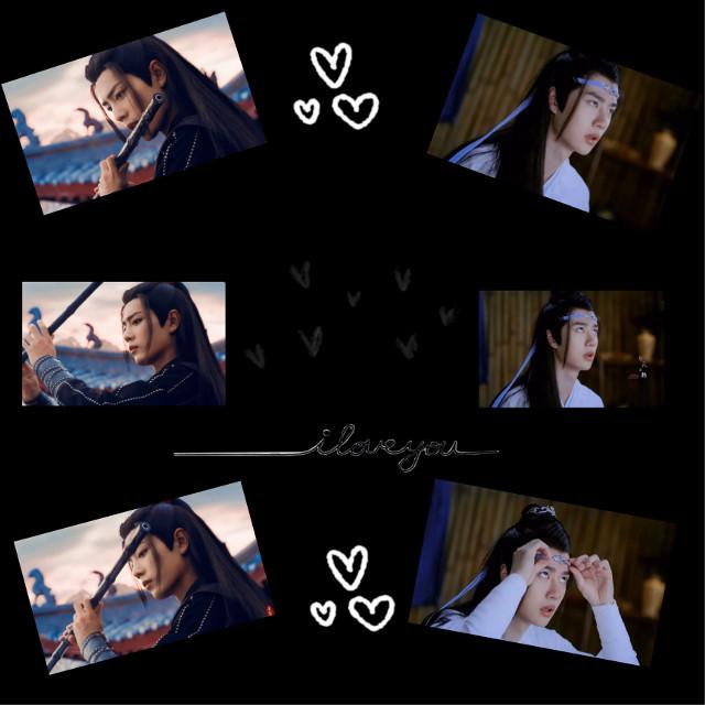 #weiwuxian #xiaozhan #wangji #wangyibo #theuntamed #love #boyslove  #freetoedit