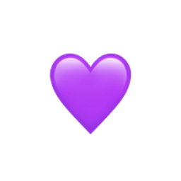 iphone sticker heart purple aesthetic freetoedit