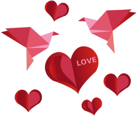 stickers love heart bird red scorigamistickers ftestickers freetoedit