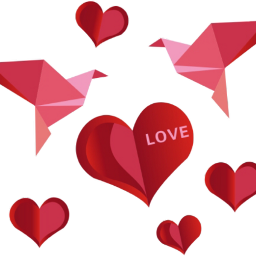 stickers love heart bird red scorigamistickers ftestickers freetoedit
