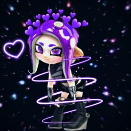 octoling octolinggirl veemo freetoedit