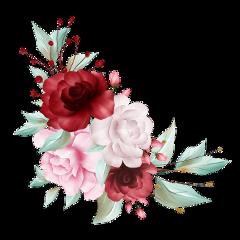 roses flowers flower bouquet watercolor ftestickers freetoedit