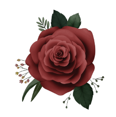 rose flower leaves stickers ftestickers freetoedit