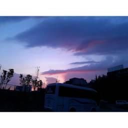 tbilisi georgia colourfulsky evening summer