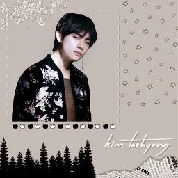 freetoedit taehyung kimtaehyung bts kpop