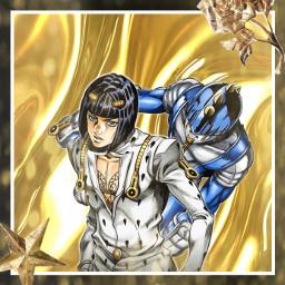 jojosbizarreadventure brunobuccellati anime ventoaureo goldenwind