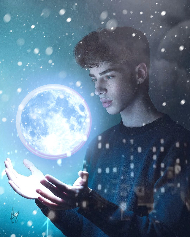 #freetoedit  #srcneoncircle #neoncircle#moon#galaxy#planet#remix