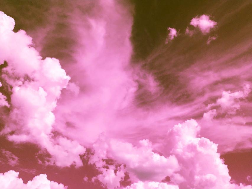#freetoedit #cloud #cloudlover #clouds #pink #pinkclouds #remixit