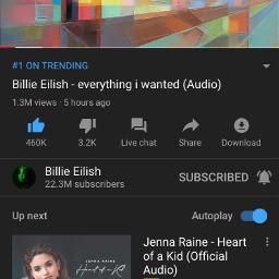 1 billieeilish everythingiwanted billie eilish