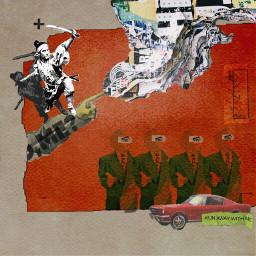 freetoedit tornpaper pointer samurai vintage