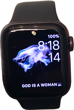 applewatch godisawoman arianagrande music apple screen freetoedit