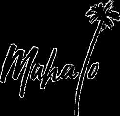 mahalo thankyou freetoedit