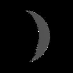 ftestickers sky moon crescent aesthetic freetoedit