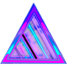 triangle abstract pink purple blue freetoedit