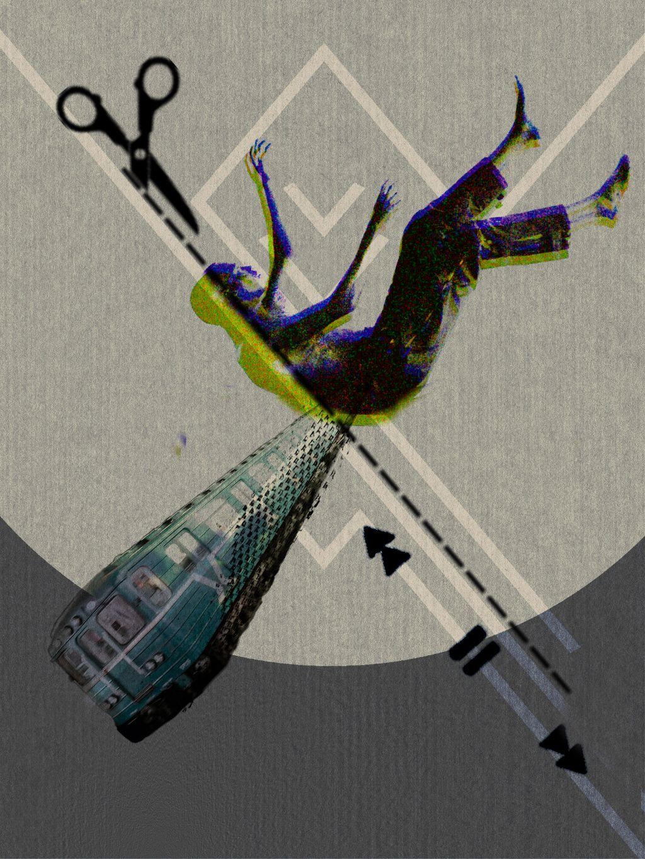 #freetoedit #people #stickers #arrow #train #scissors
