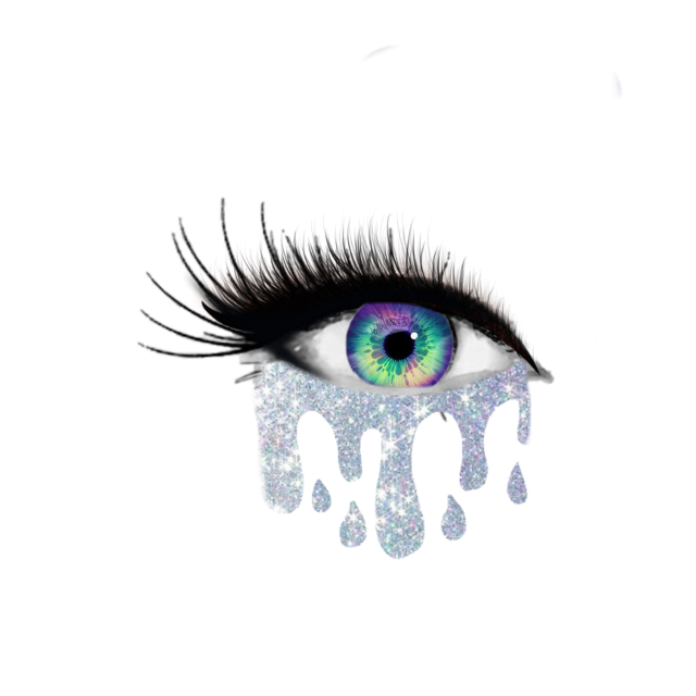 #freetoedit #eye #beautiful #crying #glitter #eyelash