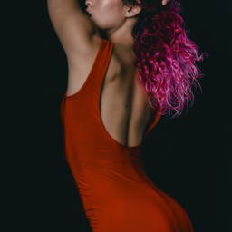 portraitphotography picsart doumam woman red