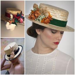 sombreros elegancia mujer