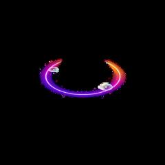 neon glowing neonlight ring halo freetoedit