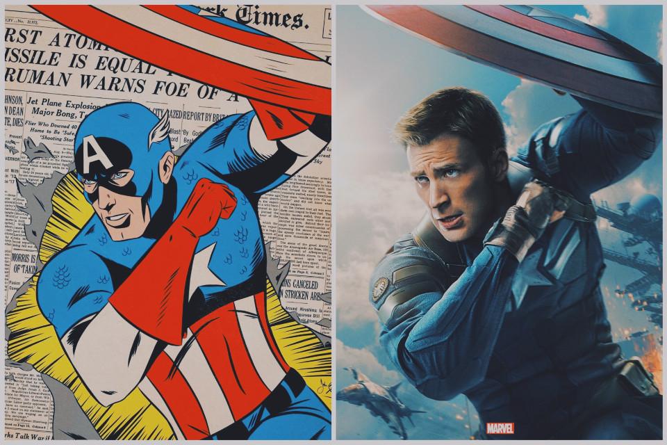Captain America Comic / Movie Credits By John Black, Effect VIN1  #captainamerica #chrisevans #capitanamerica   #Marvel #Marvelcomics #marvelstudios #steverogers #Movie #vin1fltr  #freetoedit #compilation